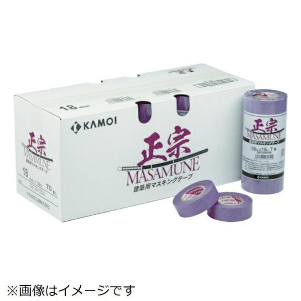 カモ井加工紙KAMOIカモ井マスキングテープ建築塗装(6巻入)MASAMUNEJAN-21