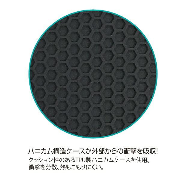 ナカバヤシNakabayashiiPadPro12.9inch(2018)用ハニカム衝撃吸収ケースCNPS10XOPTIMAIIBLACKシルバー