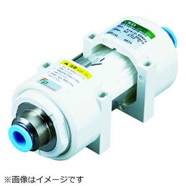 CKDシーケーディCKD除菌フィルタ・インラインタイプΦ10チューブ継手付きSFS10-H10H10-FP2