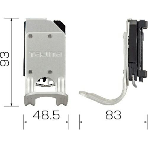 TJMデザインタジマ着脱式工具ホルダーアルミラチェットSFKHA-R