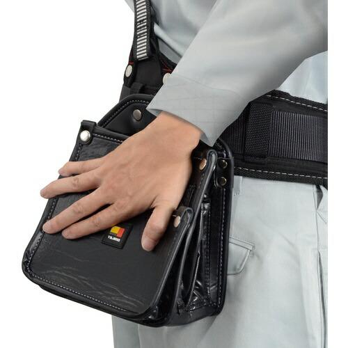 TJMデザインタジマ着脱式腰袋電工2段大SFKBN-DK2L