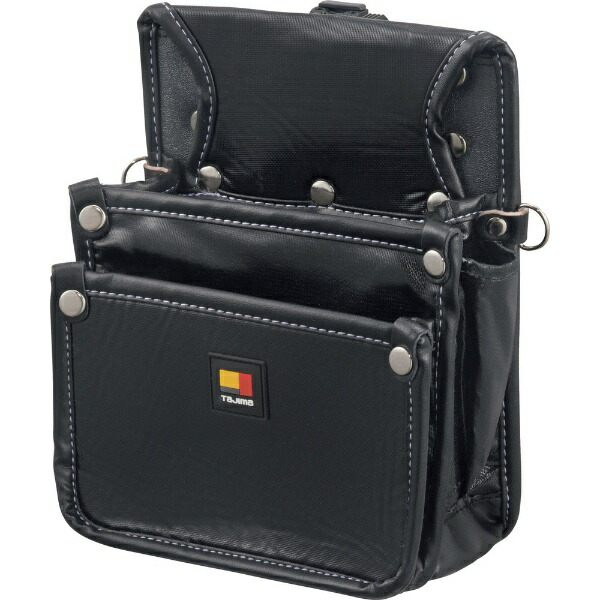 TJMデザインタジマ着脱式腰袋釘袋2段小SFKBN-KG2S