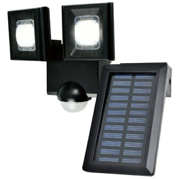ELPAエルパ屋外用LEDセンサーライトソーラー式2灯ESL-N112SL[白色/ソーラー式]
