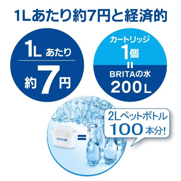 ブリタBRITAKBFNCB1浄水ポットfill&enjoyFunブルー[KBFNCB1]