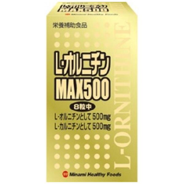 ミナミヘルシーフーズminamiLオルニチンMAX500240T