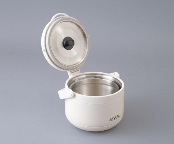 アイリスオーヤマIRISOHYAMARWP-N45真空保温調理器おまかせさんホワイト[RWPN45]