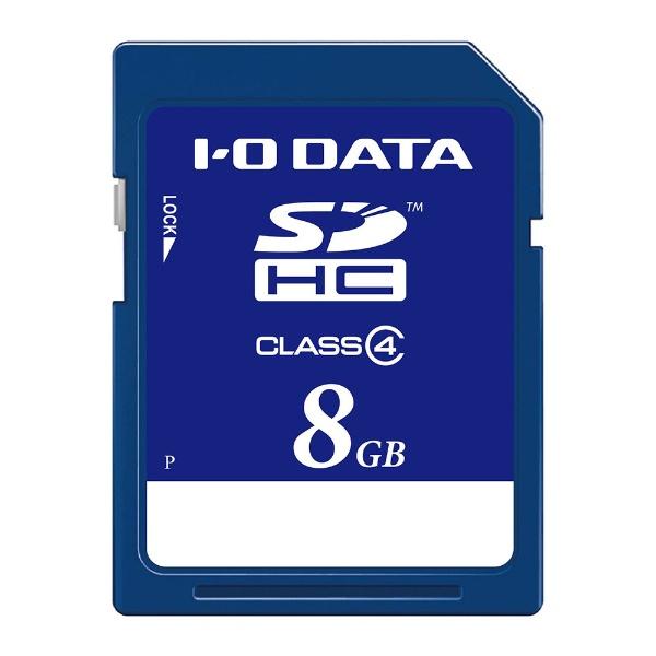 I-ODATAアイ・オー・データSDHCカードSDH-WRシリーズSDH-W8GR[8GB/Class4][SDHW8GR]