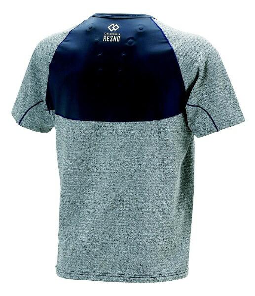 コラントッテColantotteメンズシャツコラントッテレスノスイッチングシャツショートスリーブ(Mサイズ/グレー×ネイビー)AJDJB68M