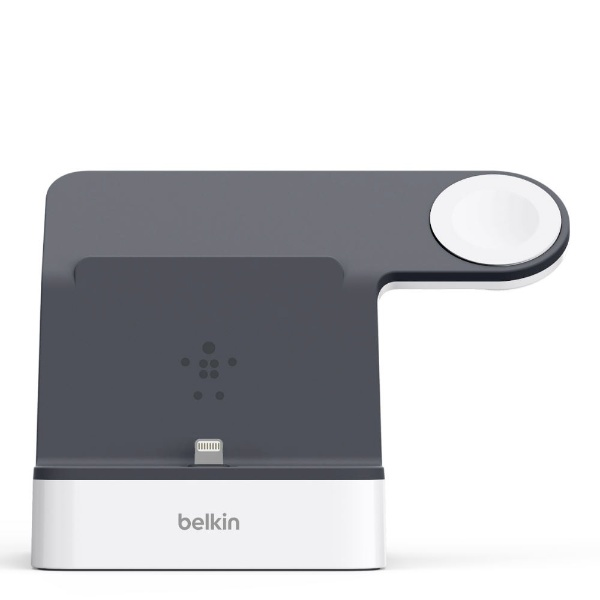 BELKINベルキンF8J237QEWHTPowerHouseChargeDockforAppleWatch+iPhoneホワイト[F8J237QEWHT]