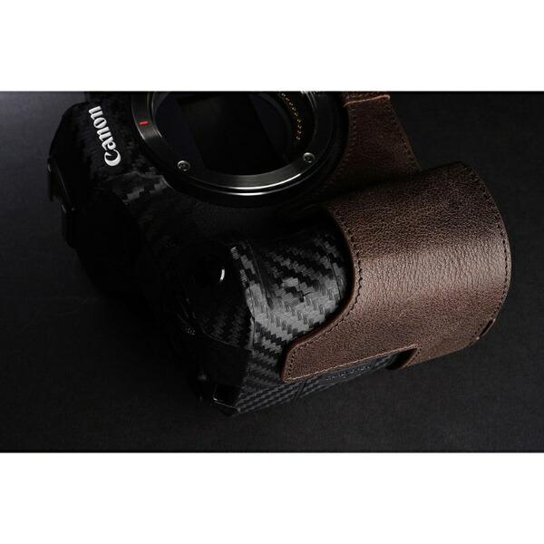 YaMeiTechnologyヤメイテクノロジーキヤノンEOSR用革製カメラボディケースTB06EOSRCOダークブラウンTB06EOSRCOダークブラウン
