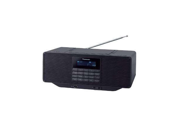 パナソニックPanasonicCDラジオRX-D70BT-Kブラック[ワイドFM対応][RXD70BTK]