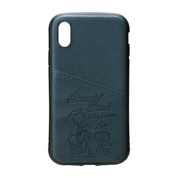 PGAiPhoneXs/X用タフポケットケースPG-DCS681DNDドナルドダック