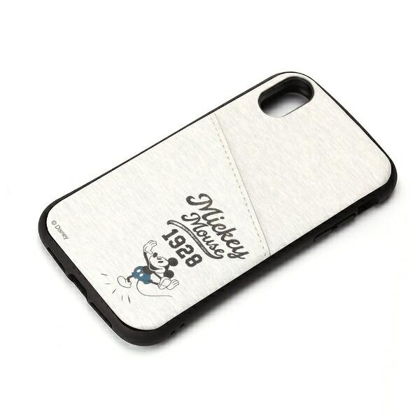 PGAiPhoneXR用タフポケットケースPG-DCS694MKYミッキーマウス/グレー