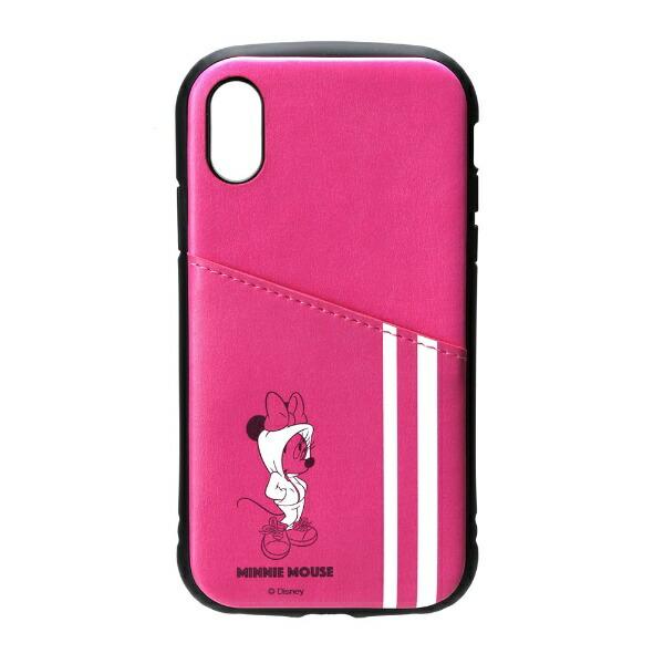PGAiPhoneXR用タフポケットケースPG-DCS695MNEミニーマウス