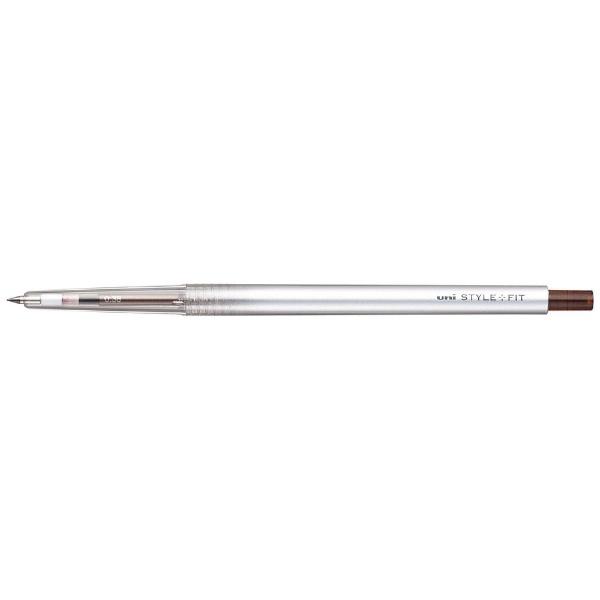 三菱鉛筆MITSUBISHIPENCILスタイルフィットUMN13938ブラウンBK22