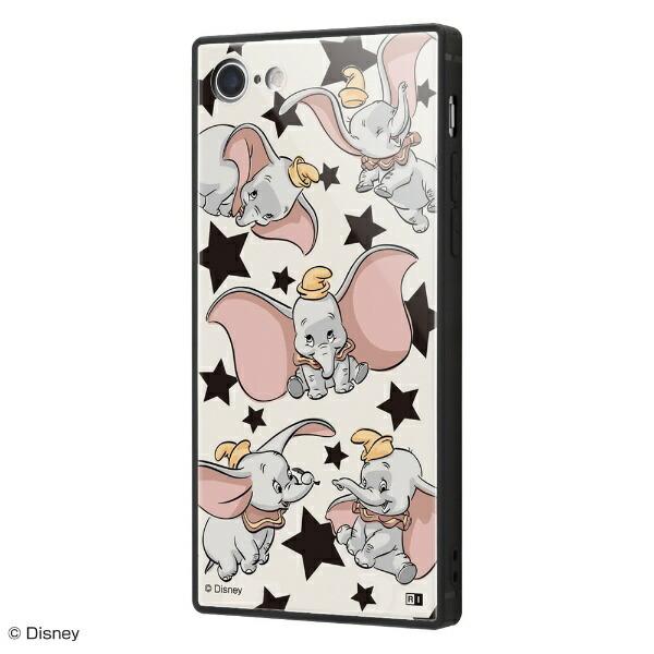 イングレムIngremiPhoneSE(第2世代)4.7インチ/iPhone8/7/「ディズニー映画『ダンボ』」/耐衝撃ガラスケースKAKUIQ-DP7K1B/DB001『ダンボ/総柄』