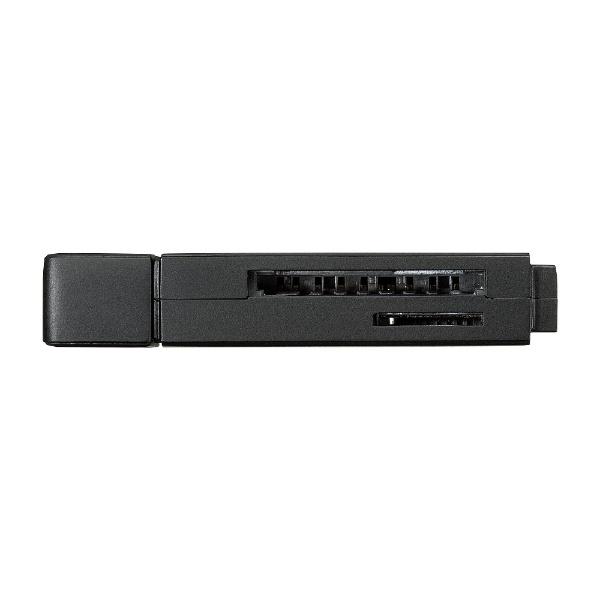 サンワサプライSANWASUPPLYADR-3TCMS9BKType-C対応microSD/SDカード専用カードリーダーブラック[USB3.0/スマホ・タブレット対応]