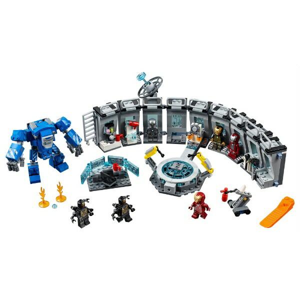 レゴジャパンLEGO76125マーベルアイアンマンのホール・オブ・アーマー