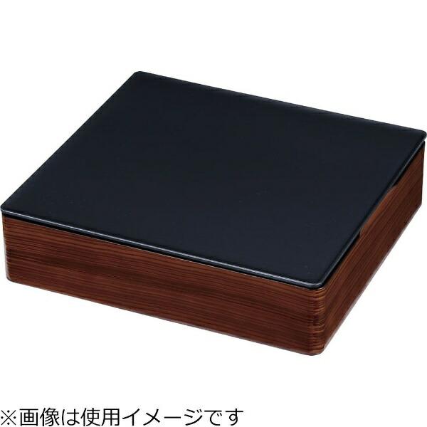 遠藤商事EndoShojiTKG和風ビュッフェ用プレート耐熱ABS2/3黒<NWA0404>[NWA0404]