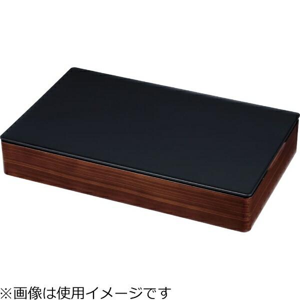 遠藤商事EndoShojiTKG和風ビュッフェ用プレート耐熱ABS1/1黒<NWA0304>[NWA0304]