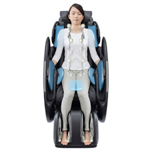 スライヴTHRIVE《基本設置料金セット》マッサージチェアくつろぎ指定席LightブラックCHD-9200-BK