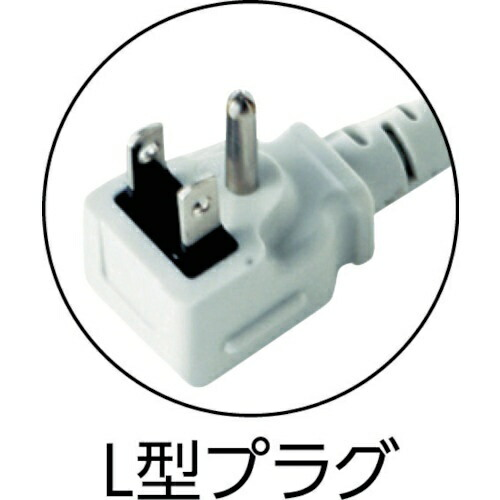 サンワサプライSANWASUPPLY工事物件タップTAP-K2NL-3[3.0m/2個口/スイッチ無]