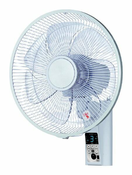 シィーネットC:NETCKBS402壁掛け式扇風機ホワイト[リモコン付き][CKBS402]