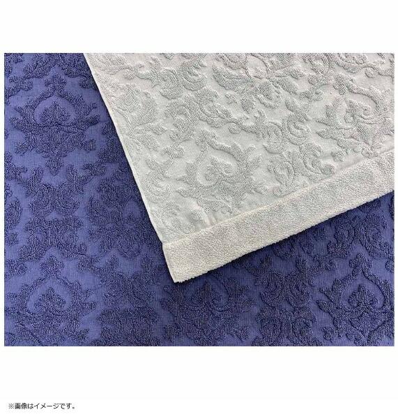 生毛工房UMOKOBO今治タオルケットアラベスクジャガードダブルサイズ(180×200cm/グレー/日本製今治産)