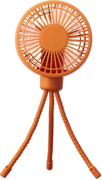 ドウシシャDOSHISHA小型扇風機PIERIA(ピエリア)お出掛けファンオレンジFSU-92B-OR[DCモーター搭載][ハンディファン携帯扇風機]