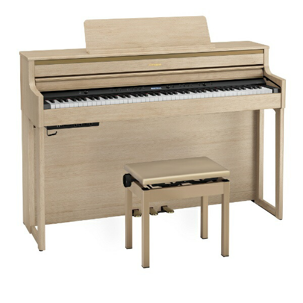 ローランドRolandHP704-LAS電子ピアノライトオーク[88鍵盤]