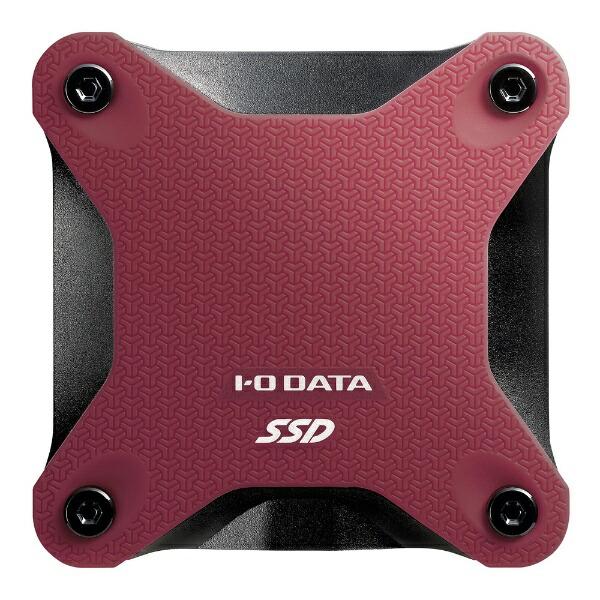 I-ODATAアイ・オー・データSSPH-UT480R外付けSSDレッド[ポータブル型/480GB][SSPHUT480R]