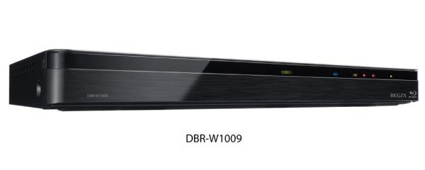 東芝TOSHIBADBR-W1009ブルーレイレコーダーREGZA(レグザ)[1TB/2番組同時録画][REGZA(レグザ)2チューナー1tbDBRW1009]