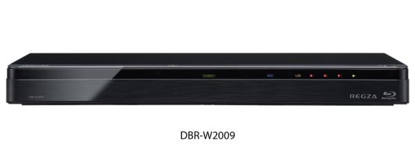 東芝TOSHIBADBR-W2009ブルーレイレコーダーREGZA(レグザ)[2TB/2番組同時録画][REGZA(レグザ)2チューナー2tbDBRW2009]