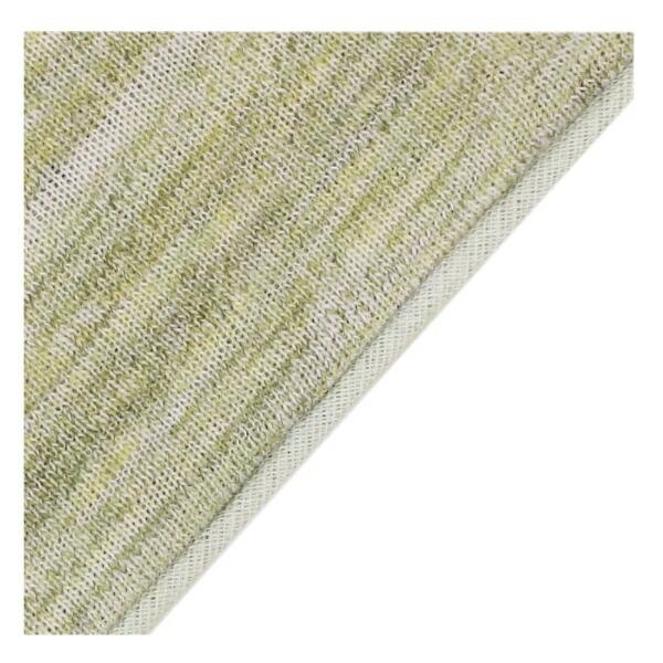 小栗OGURI【まくらカバー】天竺ニットカーマン標準サイズ(ポリエステル65%、綿35%/43×63cm/グリーン)