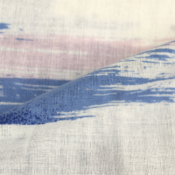 小栗OGURI【まくらカバー】二重ガーゼペントル標準サイズ(綿100%/43×63cm/サックス)