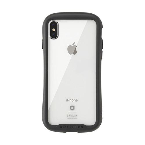 HAMEEハミィ[iPhoneXSMax専用]iFaceReflection強化ガラスクリアケース41-907252ブラック