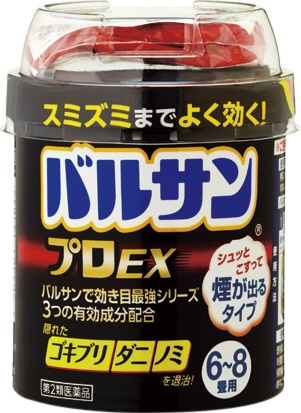 【第2類医薬品】バルサンプロEX12-16畳(40g)〔殺虫剤〕レックLEC
