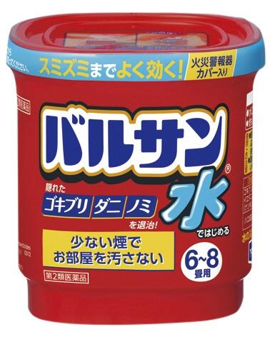 【第2類医薬品】水ではじめるバルサン6-8畳(12.5g)〔殺虫剤〕レックLEC