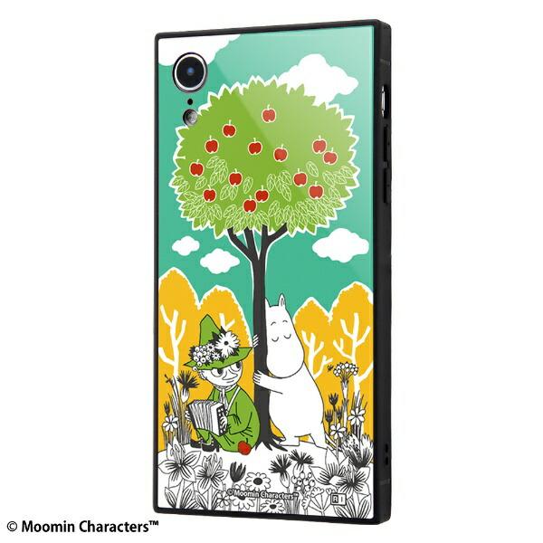 イングレムIngremiPhoneXR/ムーミン/耐衝撃ケースKAKUトリプルハイブリッドIQ-AP18K3B/MT003コミック_3
