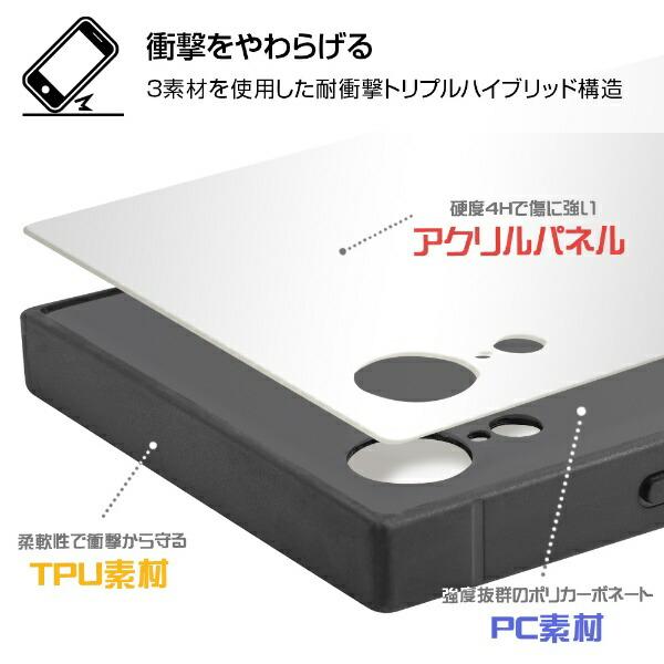 イングレムIngremiPhoneXR/ミッフィー/耐衝撃ケースKAKUトリプルハイブリッドIQ-BP18K3B/MF002thinking_2