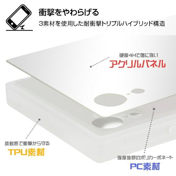 イングレムIngremiPhoneXR/ミッフィー/耐衝撃ケースKAKUトリプルハイブリッドIQ-BP18K3C/MF004花