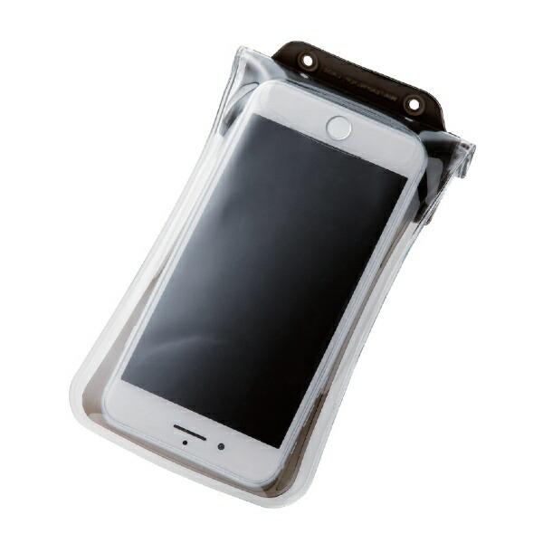 エレコムELECOMスマートフォン用防水・防塵ケース水没防止タイプLサイズブラックPCWPSF02BK