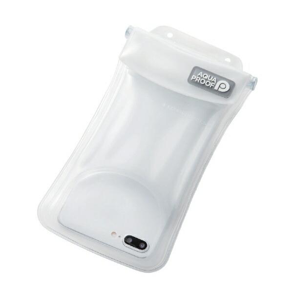 エレコムELECOMスマートフォン用防水・防塵ケース水没防止タイプLサイズホワイトPCWPSF02WH
