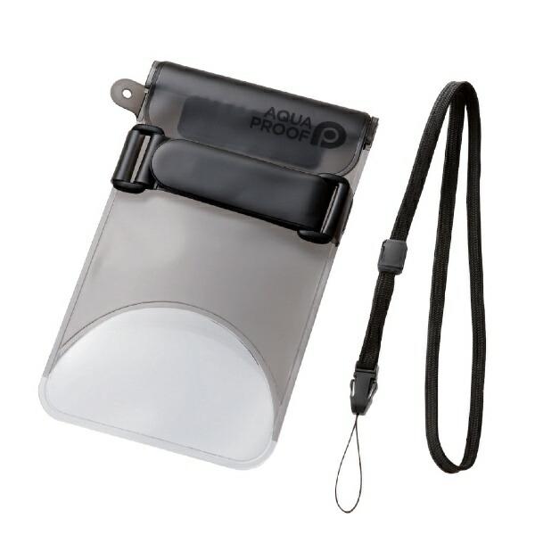 エレコムELECOMスマートフォン用防水・防塵ケースセルフィー特化LサイズブラックPCWPSS02BK