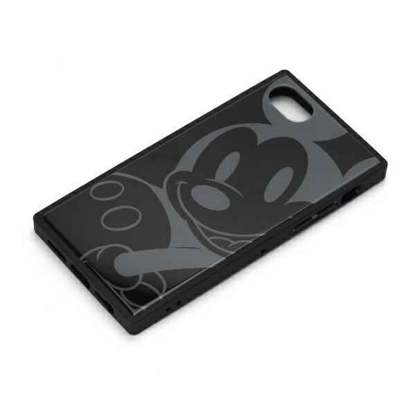 PGAiPhone8/7/6s/6用ガラスハイブリッドケースPG-DCS730MKYミッキーマウス/ブラック