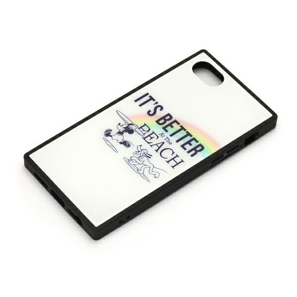 PGAiPhone8/7/6s/6用ガラスハイブリッドケースPG-DCS731MKYミッキーマウス/ホワイト