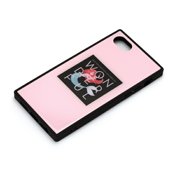 PGAiPhone8/7/6s/6用ガラスハイブリッドケースPG-DCS734ARLアリエル