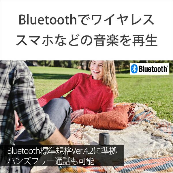 ソニーSONYブルートゥーススピーカーSRS-XB12バイオレット[Bluetooth対応/防水][ソニーワイヤレススピーカー]