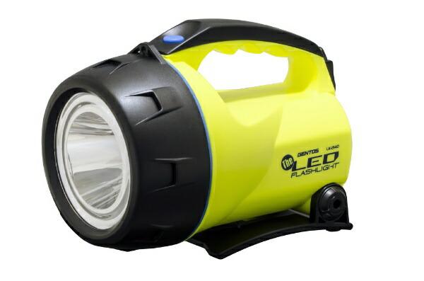 ジェントスGENTOSLEDトーチLK-214D[LED/単1乾電池×4/防水]