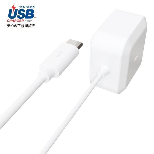 ラディウスradiusUSB-PD対応USB-C直結ACアダプター1.2mRK-UPD18WRK-UPD18Wホワイト[1.2m/USBPowerDelivery対応]